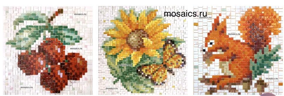 Панно из мозаики своими руками в наборах